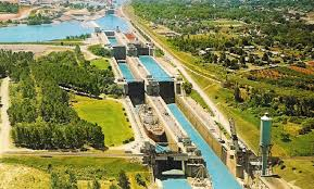 Locks 4, 5 and 6 in Thorold