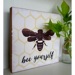 Inspirational Honey Bee Wall Art