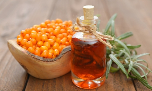 sea buckthorn and honey for blog post - DIY Sea Buckthorn Oil Skincare