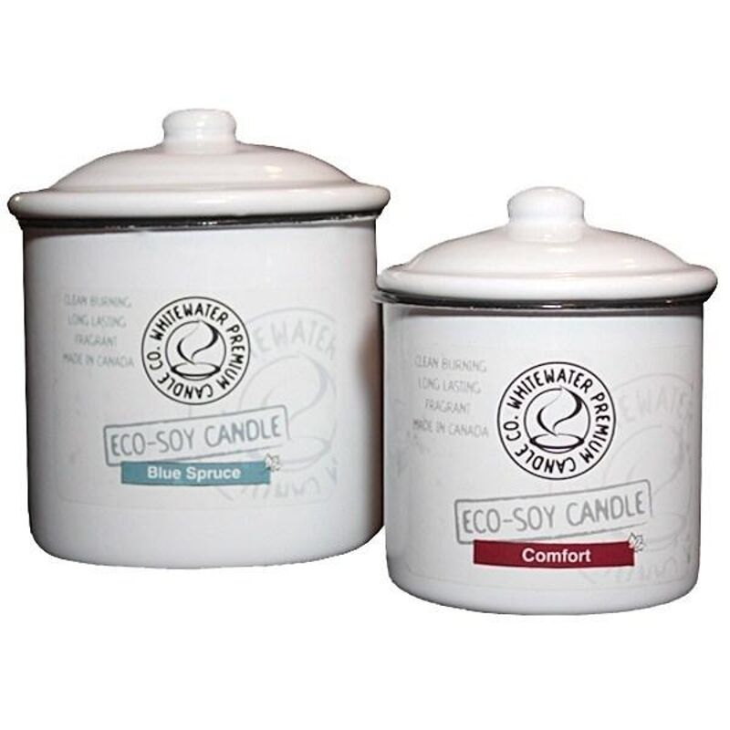 Natural Eco Soy Candle – Whitewater Premium Candle Co.