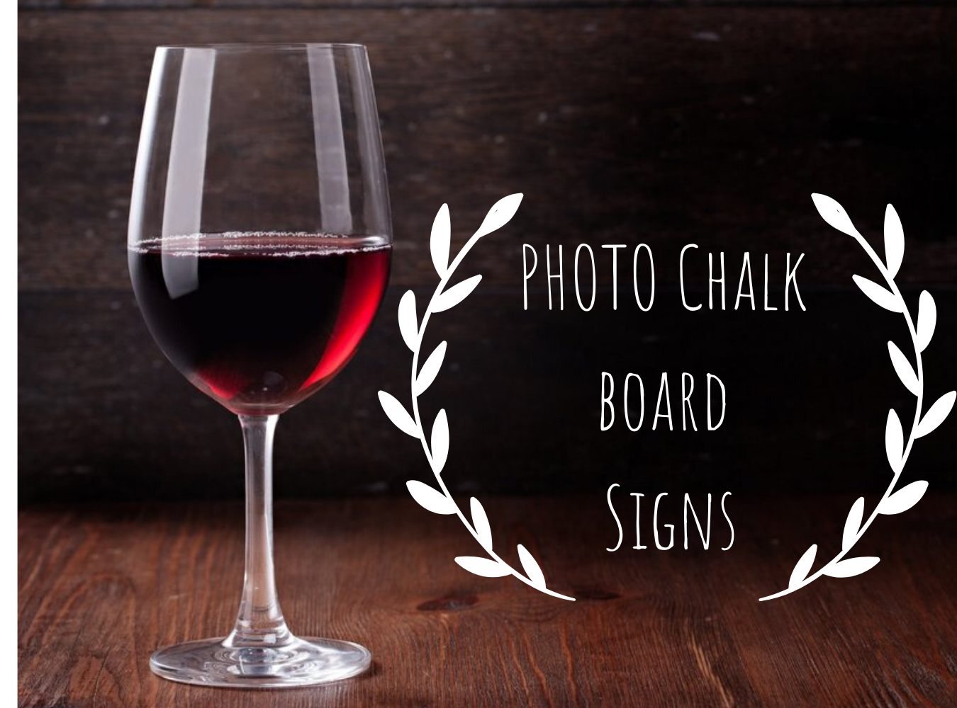 PHOTO Chalk board Signs - Bee By The Sea