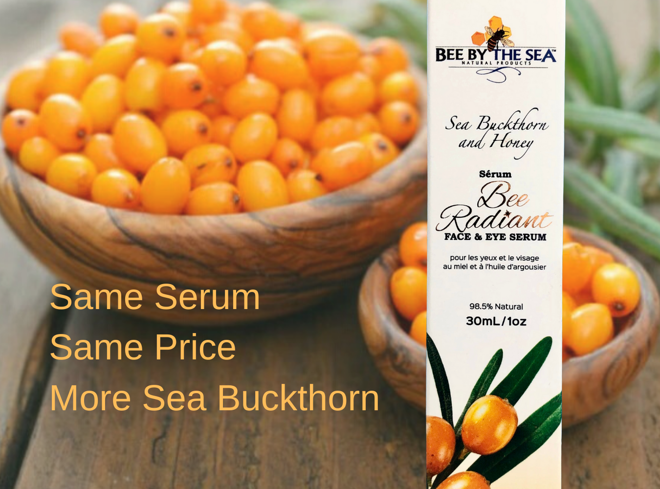 Serum Feature - Bee By The Sea