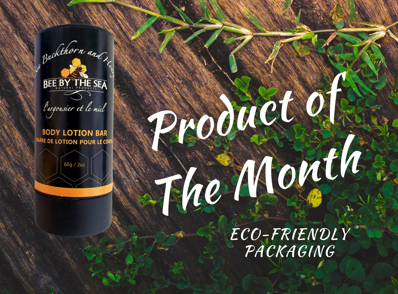 lotion bar POTM feature  - Bee By The Sea