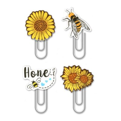 Honey Bee Paper Clip Set
