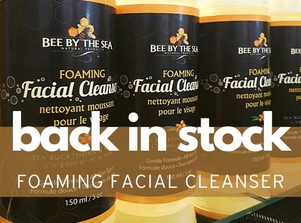 foaming facial cleanser feature - Homepage