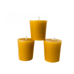 Beeswax Votive Candle 3 Pack