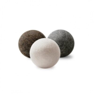 Natural Wool Dryer Ball Set