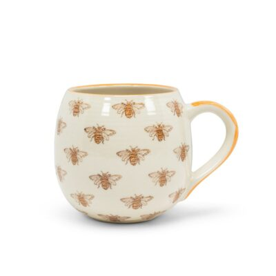 Allover Bee Stoneware Mug