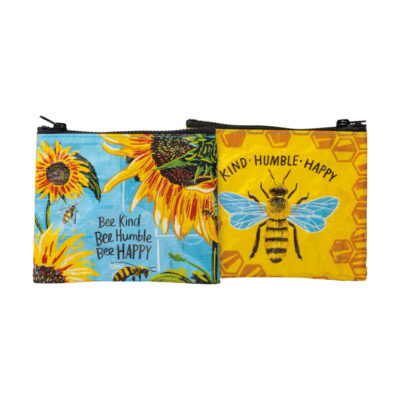 Bee Organized Zippered Pouch